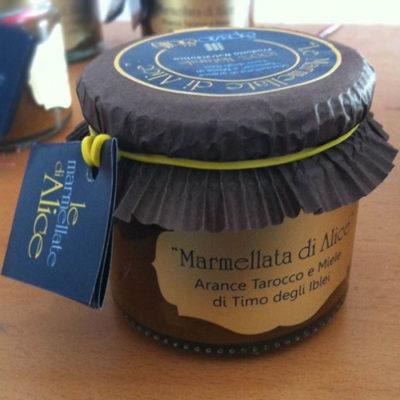 Marmellata di Arance Tarocco e Miele di Timo degli Iblei | Prodotti | Spazio Sicilia